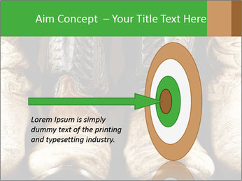 High contrast PowerPoint Template - Slide 83