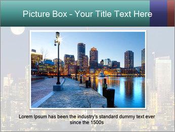 Beautiful nightview PowerPoint Templates - Slide 15