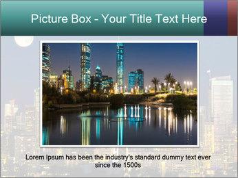 Beautiful nightview PowerPoint Templates - Slide 16
