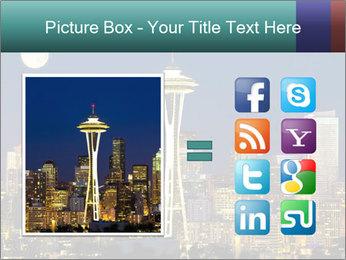 Beautiful nightview PowerPoint Templates - Slide 21