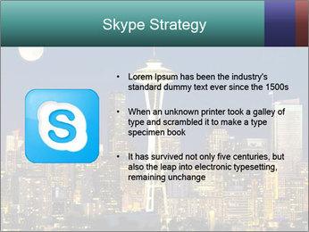 Beautiful nightview PowerPoint Templates - Slide 8