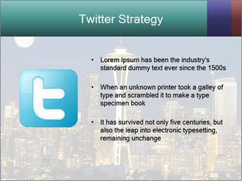 Beautiful nightview PowerPoint Templates - Slide 9