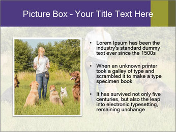 A group of dogs PowerPoint Templates - Slide 13