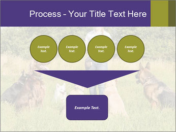 A group of dogs PowerPoint Templates - Slide 93
