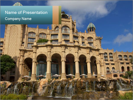 Lost City PowerPoint Templates