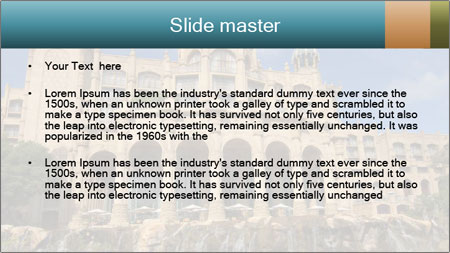 Lost City PowerPoint Template - Slide 2