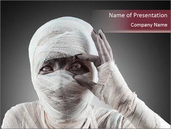 Mummy PowerPoint Templates - Slide 1