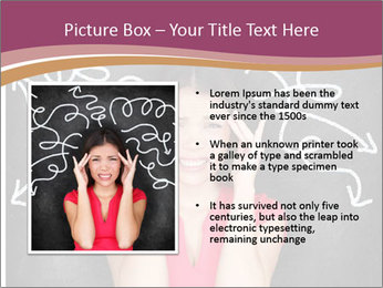 Confused woman PowerPoint Template - Slide 13