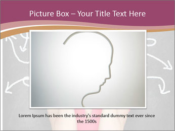 Confused woman PowerPoint Template - Slide 15