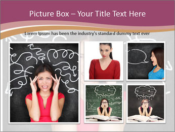 Confused woman PowerPoint Template - Slide 19