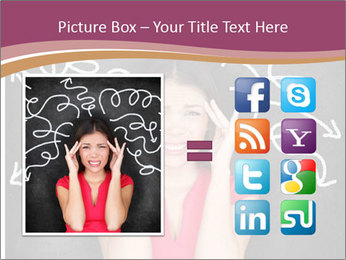 Confused woman PowerPoint Template - Slide 21