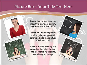 Confused woman PowerPoint Template - Slide 24