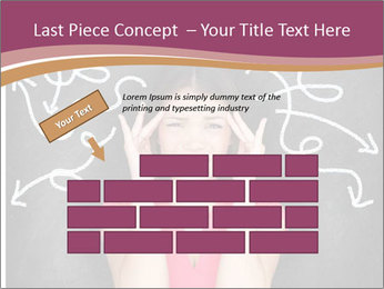 Confused woman PowerPoint Template - Slide 46