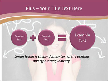 Confused woman PowerPoint Template - Slide 75