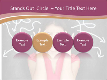 Confused woman PowerPoint Template - Slide 76