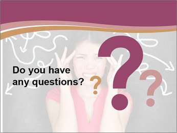 Confused woman PowerPoint Template - Slide 96