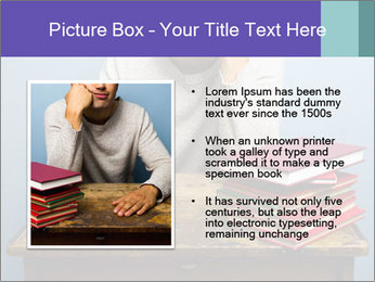 Bored man PowerPoint Templates - Slide 13