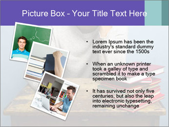 Bored man PowerPoint Templates - Slide 17