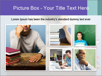 Bored man PowerPoint Templates - Slide 19