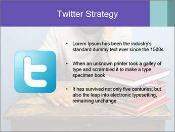 Bored man PowerPoint Templates - Slide 9