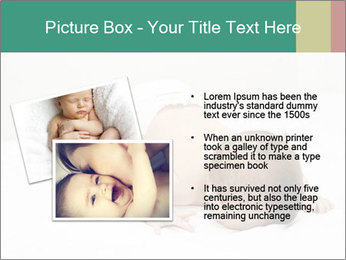Baby on bed PowerPoint Templates - Slide 20