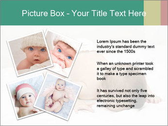Baby on bed PowerPoint Templates - Slide 23