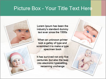 Baby on bed PowerPoint Templates - Slide 24