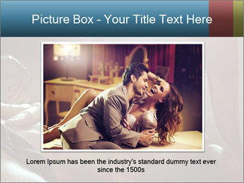 Happy loving couple PowerPoint Template - Slide 15