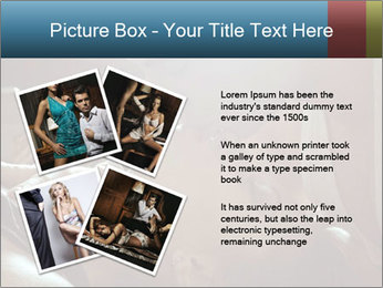 Happy loving couple PowerPoint Template - Slide 23