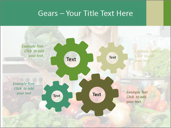 Housewife PowerPoint Templates - Slide 47
