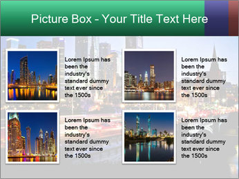 Melbourne by Night PowerPoint Templates - Slide 14