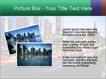Melbourne by Night PowerPoint Templates - Slide 20