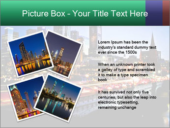 Melbourne by Night PowerPoint Templates - Slide 23