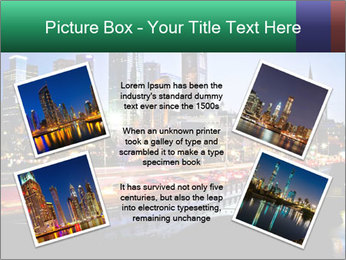 Melbourne by Night PowerPoint Templates - Slide 24