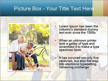 Happy middle aged couple PowerPoint Templates - Slide 13