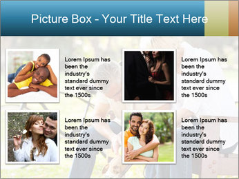 Happy middle aged couple PowerPoint Templates - Slide 14