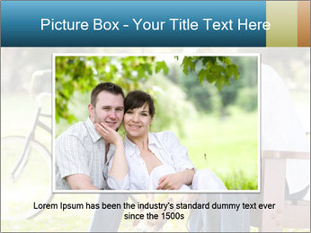 Happy middle aged couple PowerPoint Templates - Slide 16