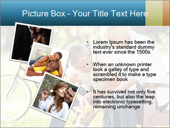 Happy middle aged couple PowerPoint Templates - Slide 17