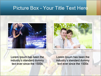 Happy middle aged couple PowerPoint Templates - Slide 18