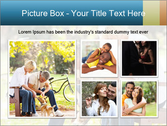 Happy middle aged couple PowerPoint Templates - Slide 19