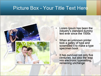 Happy middle aged couple PowerPoint Templates - Slide 20
