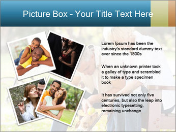 Happy middle aged couple PowerPoint Templates - Slide 23