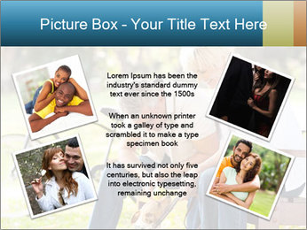 Happy middle aged couple PowerPoint Templates - Slide 24