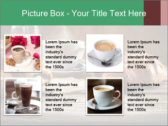 Decoration of coffee PowerPoint Templates - Slide 14
