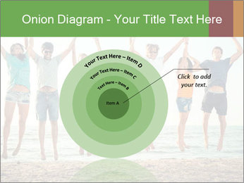 People Jumping at Beach PowerPoint Template - Slide 61