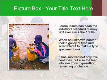 Village girls PowerPoint Templates - Slide 13