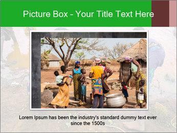 Village girls PowerPoint Templates - Slide 16