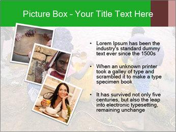 Village girls PowerPoint Templates - Slide 17