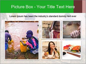 Village girls PowerPoint Templates - Slide 19