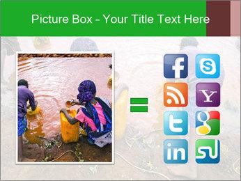 Village girls PowerPoint Templates - Slide 21